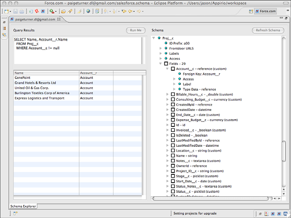 SOQL Inner Join, Outer Join Relationships in Salesforce
