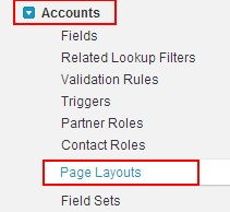 how to change page layout in salesforce
