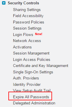 expire all passwords